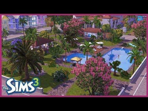 Sims 3 Hausbauvideo: Roxana-Park