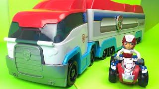 Paw Patrol Patroller Truck Ryder Zuma Chase Marshall Rocky Sky Patrulla De Cachorros