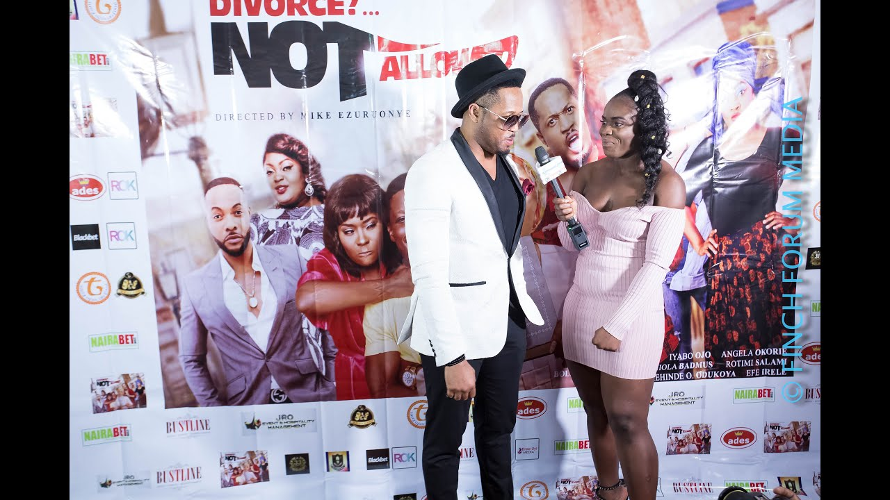 Download Divorce Not Allowed movie premiere in London with mike ezuruonye