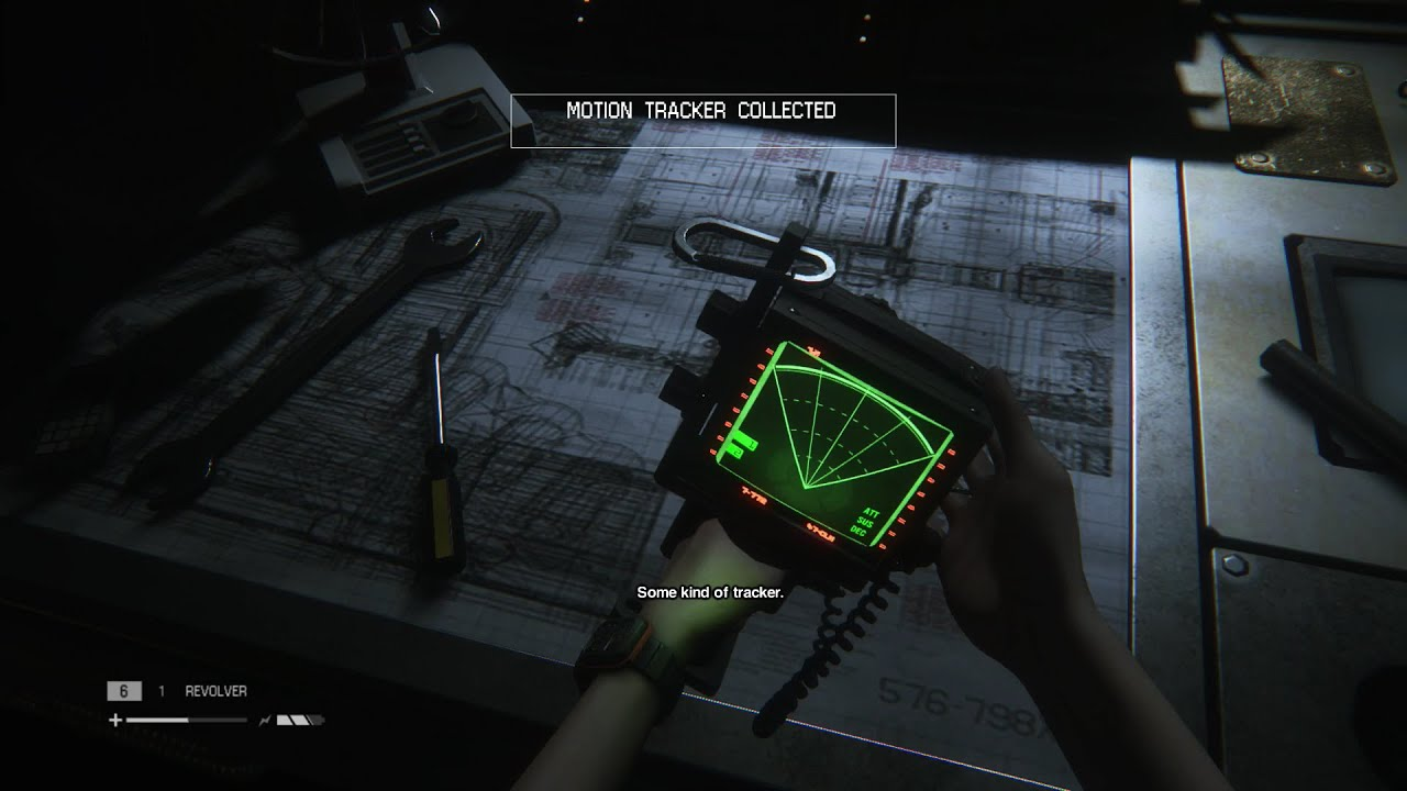 Alien Isolation Playthrough Part 3 The Motion Tracker