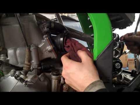 KX250 VForce3 Reed Install
