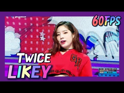 60FPS 1080P | TWICE - LIKEY, 트와이스 - 라이키 Show Music Core 20171125