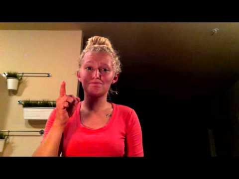 Walk a Little Straighter- Billy Currington  ASL