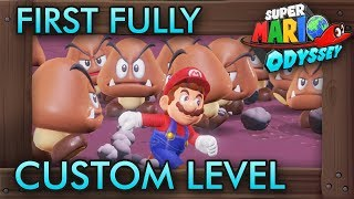 Download lagu The First Fully Custom Level in Super Mario Odyssey MP3