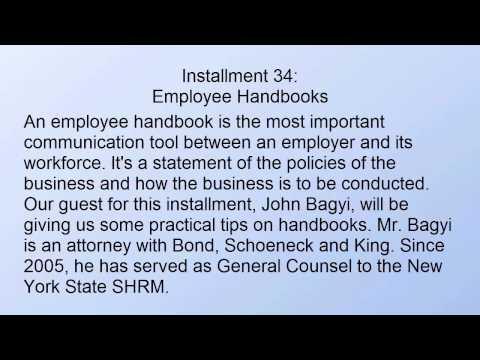 Writing a Great Employee Handbook