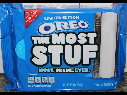 Lynch and Taco - THE MOST STUFF Oreos Have Arrived!!