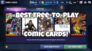 Marvel Future Fight- Best Free-To-Play Comic Cards ?!?? - My Cards, My Thoughts, My Process