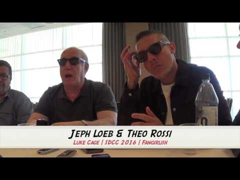 LUKE CAGE SDCC 2016 Interview: Jeph Loeb and Theo Rossi