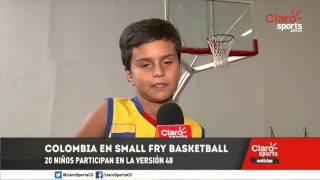 Veinte niños colombianos competirán en el Small Fry Basketball de Estados Unidos