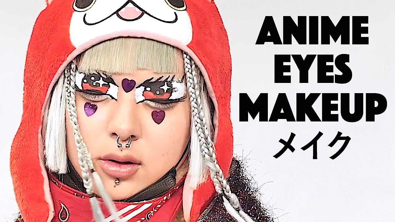 ANIME Eyes MAKEUP TUTORIAL By Japanese Neo Street Fashion Leader SHOUSHI