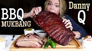Best Texas BBQ -- In Florida! Mukbang with my Fiance, Shane!
