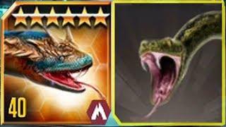 TITANOBOA Vs TITANOBOA - Jurassic World The Game Vs Jurassic Park Builder
