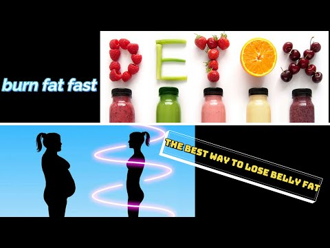 Lose weight well using the best detox ever / burn belly fat in one week/100% garantee recipes