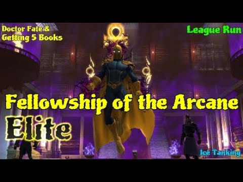 Fellowship Of The Arcane (Elite) / FOAe / Doctor Fate & Getting Books