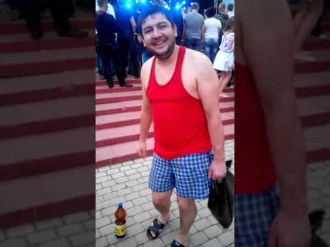 На дискотэке....Нарофоминск  день города