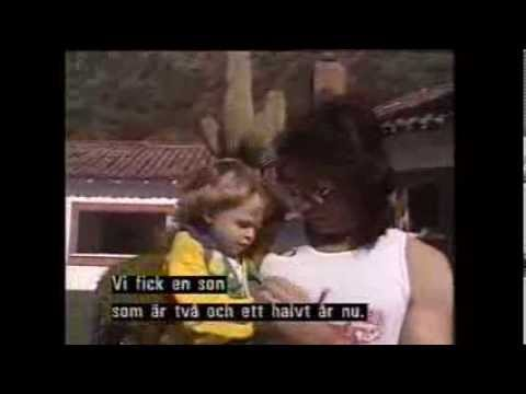 Rick Springfield   Interview by Swedish TV 1988