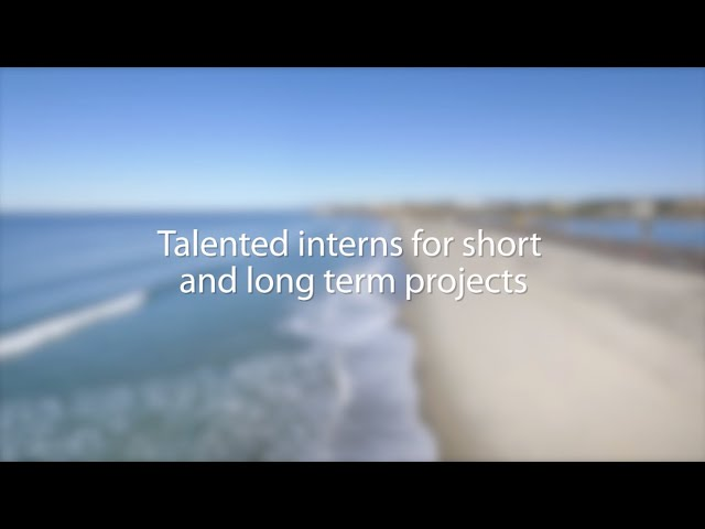 Got a short-term project? We have an intern for that!