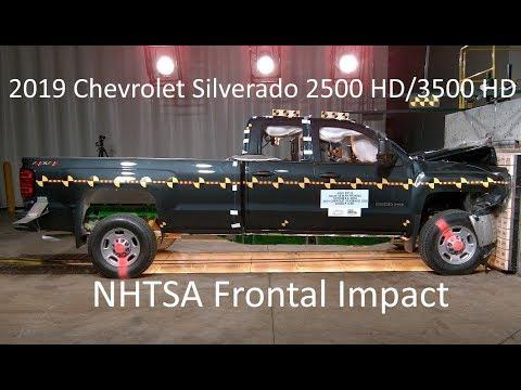 2019 Chevrolet Silverado & GMC Sierra 2500 HD/3500 HD NHTSA Frontal Impact