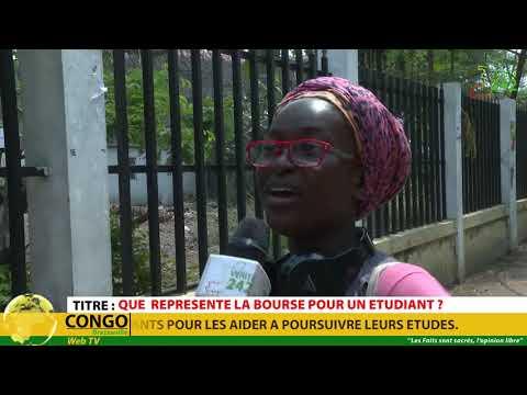 VÉRITÉ 242:Congo, Brazzaville, Que  représente la bourse pour un étudiant ?