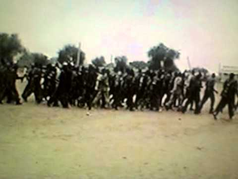The Spla soldiers of Mayik Michar