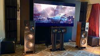 Insane Polk LEGEND 7.4.6 Dolby Atmos Demo and Overview| CES 2020