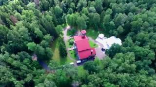 Свадебный шатер в лесу  Пятницкое шоссе 7 км от МКАД