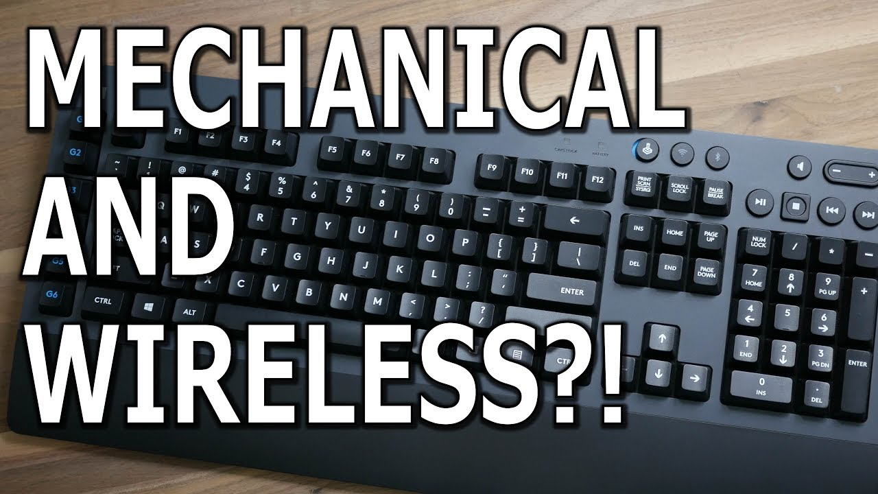 logitech g613 review best mechanical wireless gaming keyboard youtube. Black Bedroom Furniture Sets. Home Design Ideas
