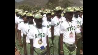 NYSC Orientation Course for 2014 Batch 'C' stream Ongoing In 7 Camps