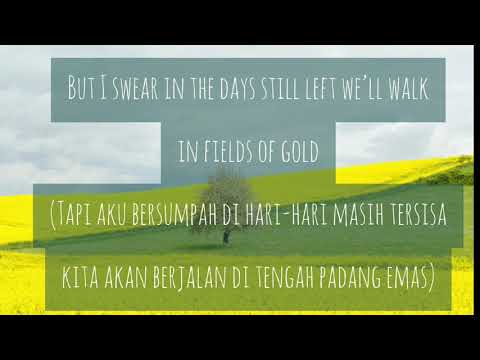 Fields Of Gold by Sting (Terjemahan Bahasa Indonesia/Indonesian Translation)