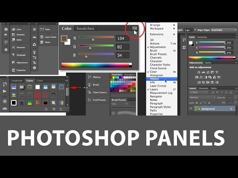 03-Learn Photohop Basic to Advance - Photoshop Penals and workspaces