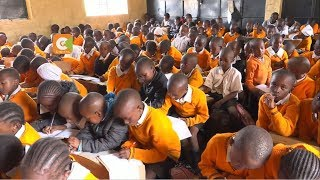 Plight of pupils in overcrowded Mwiki Primary School