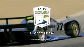 Classic Competition Comes to Life with The Rolex Monterey Motorsports Reunion Live Stream thumbnail