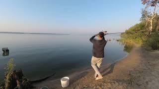 Рыбалка на СУРСКОМ ВОДОХРАНИЛИЩЕ Печарка на ДОНКИ с НОЧЁВКОЙ
