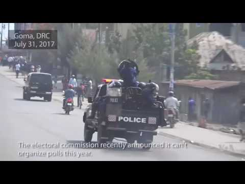 Protesters Arrested in Goma
