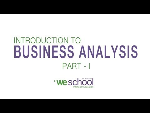 Business analysis part i ford