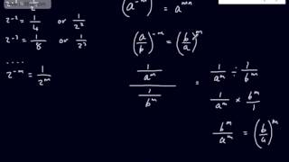 Core 1 - Algebra and Function (2) - The Rules of Indices - Learning from Scratch