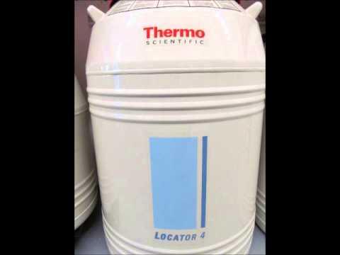 Thermo Scientific Locator 4 Cryo Biological Storage Vessel