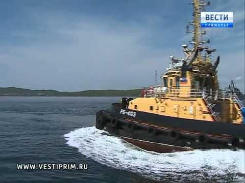 видео: Буксиры нового поколения осваивают на Тихоокеанском флоте