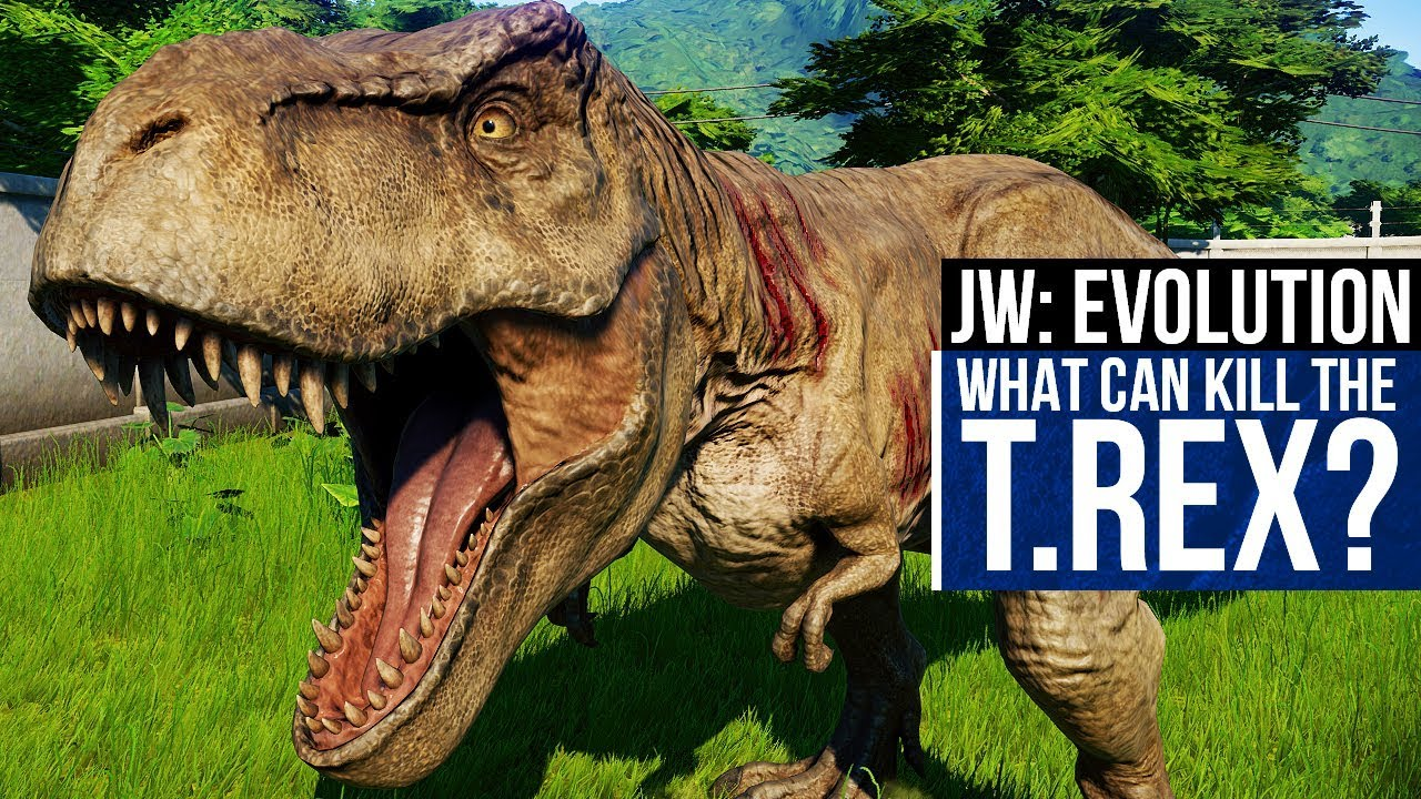 WHAT CAN KILL A T.REX? LET'S DO SOME SCIENCE | Jurassic World: Evolution Herbivore Kills