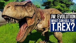 Can a Struthiomimus kill a Tyrannosaurus Rex? There's only way to f...