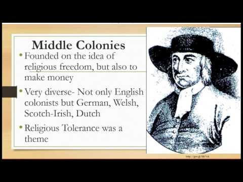 13 Colonies 3 Regions