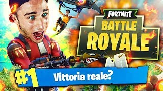 SUPER EZE AND GRANDE VITTORIA REALE!?! -Fortnite Battle Royale