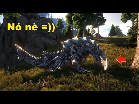 ARK: The Center #24 - Rồng băng Glacial Agnaktor, bạn biết loài Rồng này không?