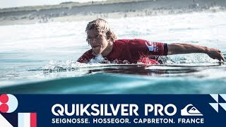 Florence vs. Ferreira vs. Asing - Round One, Heat 5 - Quiksilver Pro France 2017