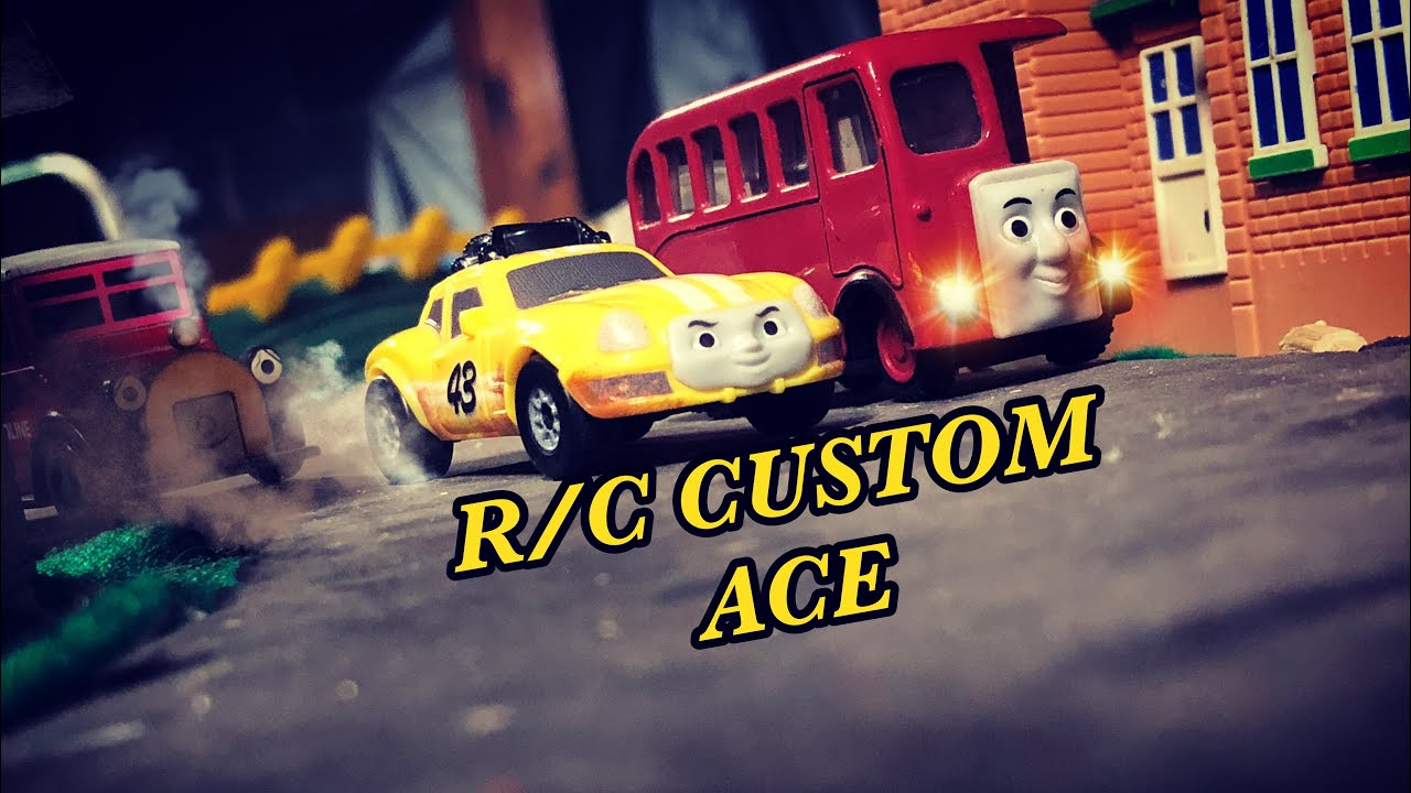 TRACKMASTER RC CUSTOM ACE REVIEW