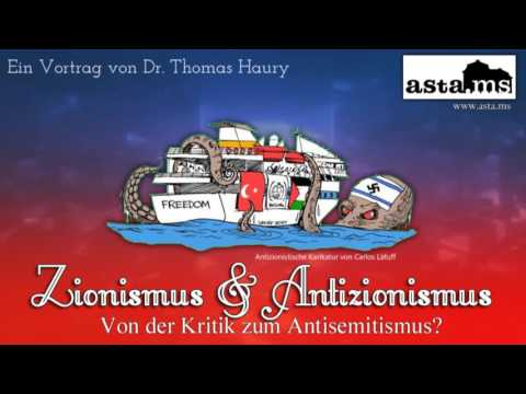 Zionismus & Antizionismus: Von der Kritik zum Antisemitismus? Ein Vortrag von Dr. Haury