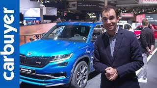 New Skoda Kodiaq vRS – Paris Motor Show – Carbuyer