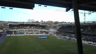 Beginning of the game - Rosenborg vs Start - 12/04/2013