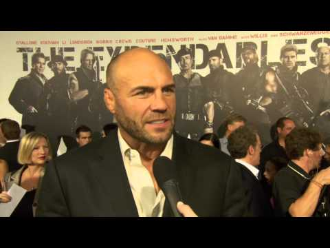 Randy Couture at The Expendables 2 Premiere! HD