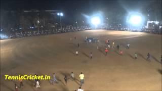 Need 1 ball 1 Run in Tennis ball Cricket Tournament